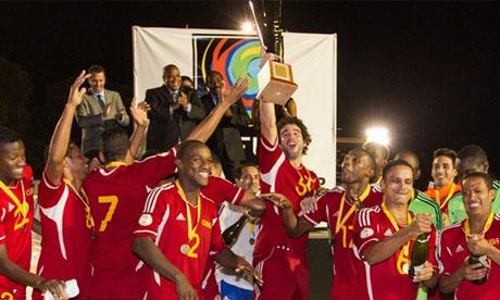 Coppa dei Caraibi 2012 : Cuba - Trinidad e Tobago