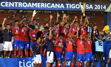 Copa Centroamericana 2014 : Guatémala Costa Rica
