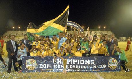 Karibik-Cup 2014 : Trinidad und Tobago Jamaika