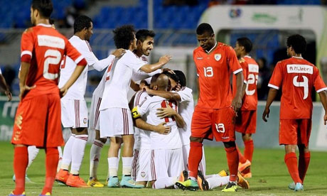 Gulf Cup 2014 : United Arab Emirates Oman