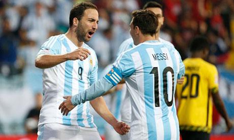Copa América 2015 : Argentina Jamaica
