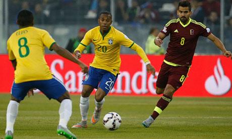 Copa América 2015 : Brazil Venezuela