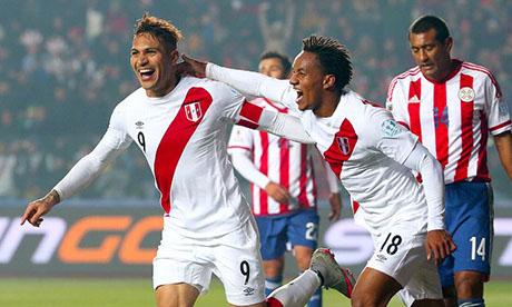 美洲杯:秘鲁VS巴拉圭