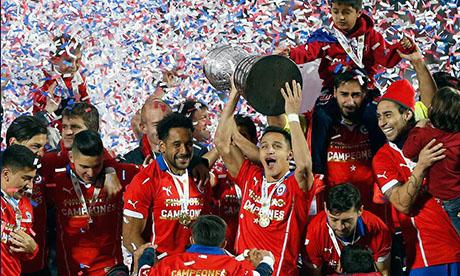 Coppa America 2015 : Cile - Argentina
