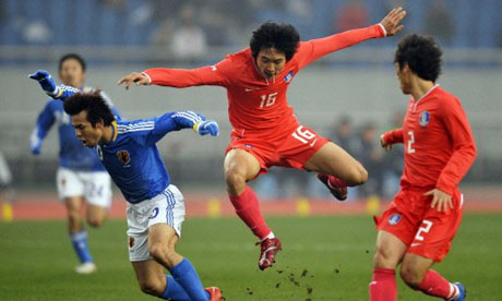 东亚杯:日本VS韩国