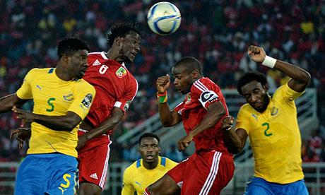 Gabon 0 1 congo brazzaville 21 janvier 2015 can 2015 - Coupe afrique des nations 2015 groupe ...