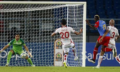 Rd congo 1 1 tunisie 26 janvier 2015 can 2015 - Coupe afrique des nations 2015 groupe ...