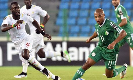 S n gal 0 2 alg rie 27 janvier 2015 can 2015 - Coupe afrique des nations 2015 groupe ...