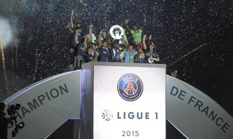 Ligue 1 2014-2015 : PSG - Reims