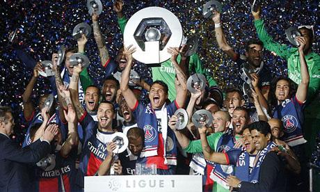 Ligue 1 2013-2014 : PSG - Montpellier