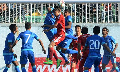 世界杯:尼泊尔VS印度