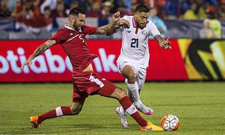 Gold-Cup 2015 : Kanada - Costa Rica