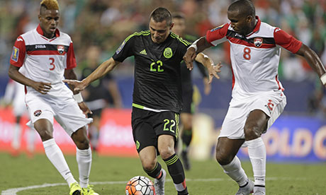 CONCACAF Gold Cup 2015 : Mexico Trinidad and Tobago