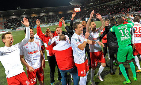 Ligue 2 2015-2016 : Tours - Nancy
