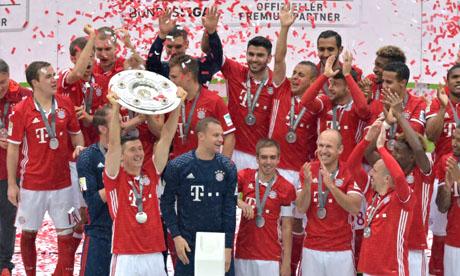 championnat d'Allemagne 2015-2016 : Bayern Munich - Hanovre