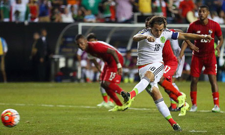 Gold Cup 2015 : Panamá Messico