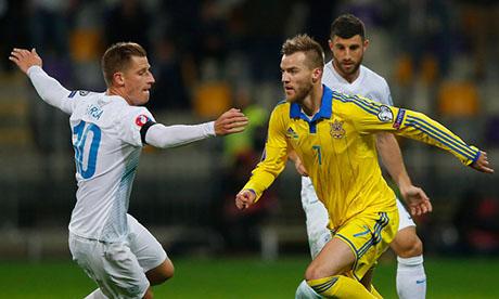 Europei di calcio 2016 : Slovenia - Ucraina