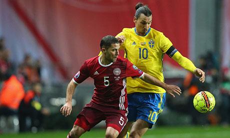 UEFA Euro 2016 : Denmark Sweden