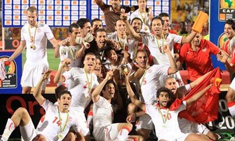 非洲国家锦标赛:突尼斯VS安哥拉