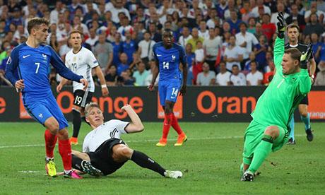 Spielergebnis Deutschland Frankreich
