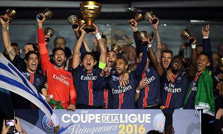 Coupe de la Ligue 2015-2016 : PSG - Lille