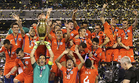 Copa América 2016 : Argentine Chili