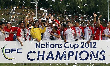 Coppa d'Oceania 2012 : Tahiti - Nuova Caledonia