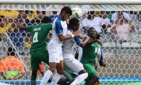 Giochi olimpici 2016 : Honduras - Nigeria
