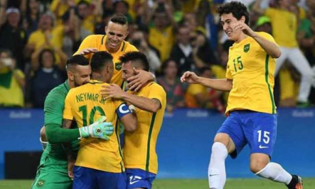Giochi olimpici 2016 : Brasile - Germania