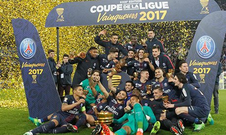Coupe de la Ligue : Monaco Paris SG