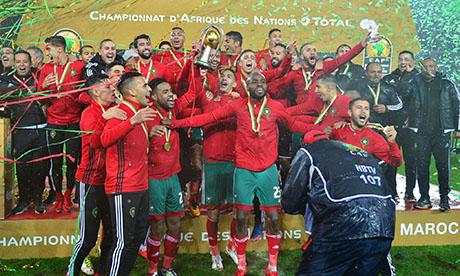 Afrikanische Nationenmeisterschaft 2018 : Marokko Nigeria
